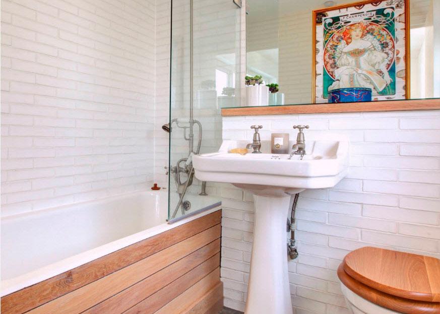 10 дизайнерских идей для маленькой ванной комнаты