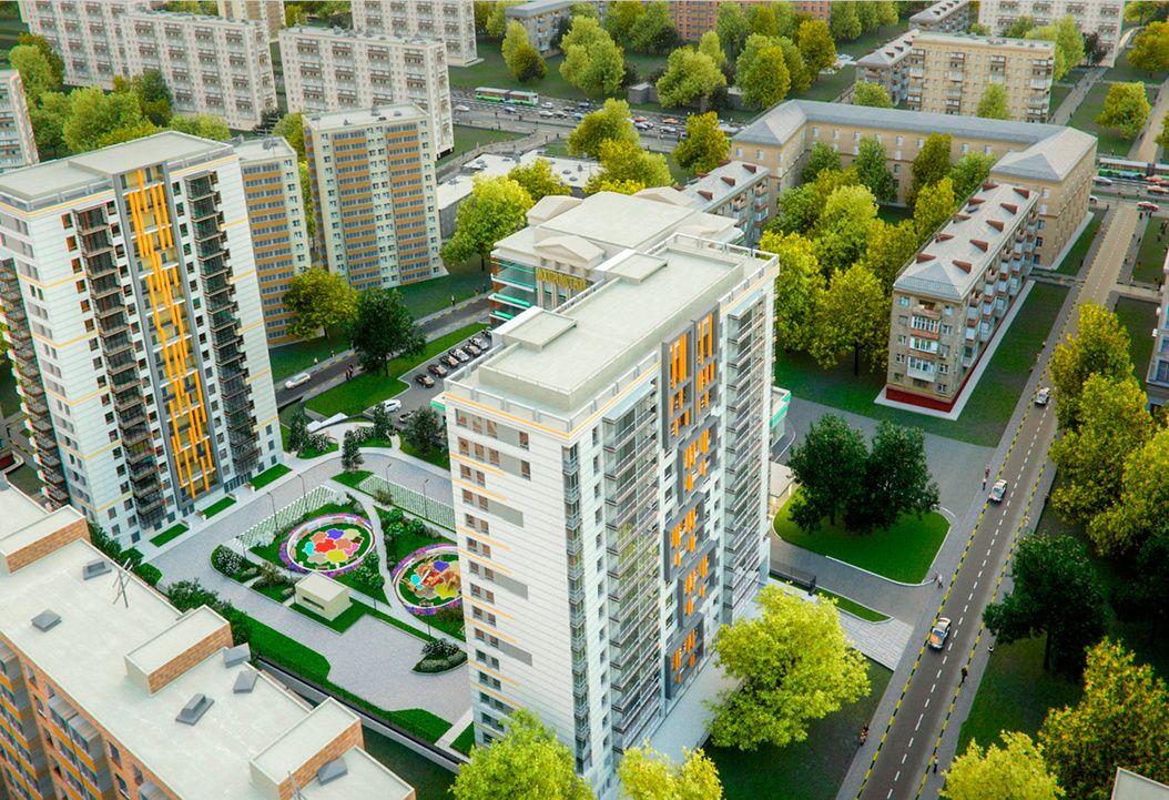 ЖК «Свой» на 257 квартир введен в эксплуатацию на западе столицы