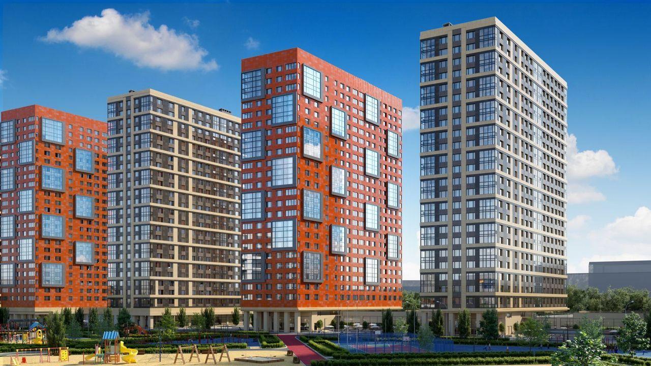 В жилом комплексе на юге Москвы готовы три корпуса