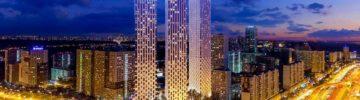 На стройке ЖК Wellton Towers задействовано более 360 рабочих