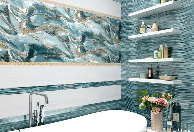 Идеи плитки для ванной комнаты (галерея фото)