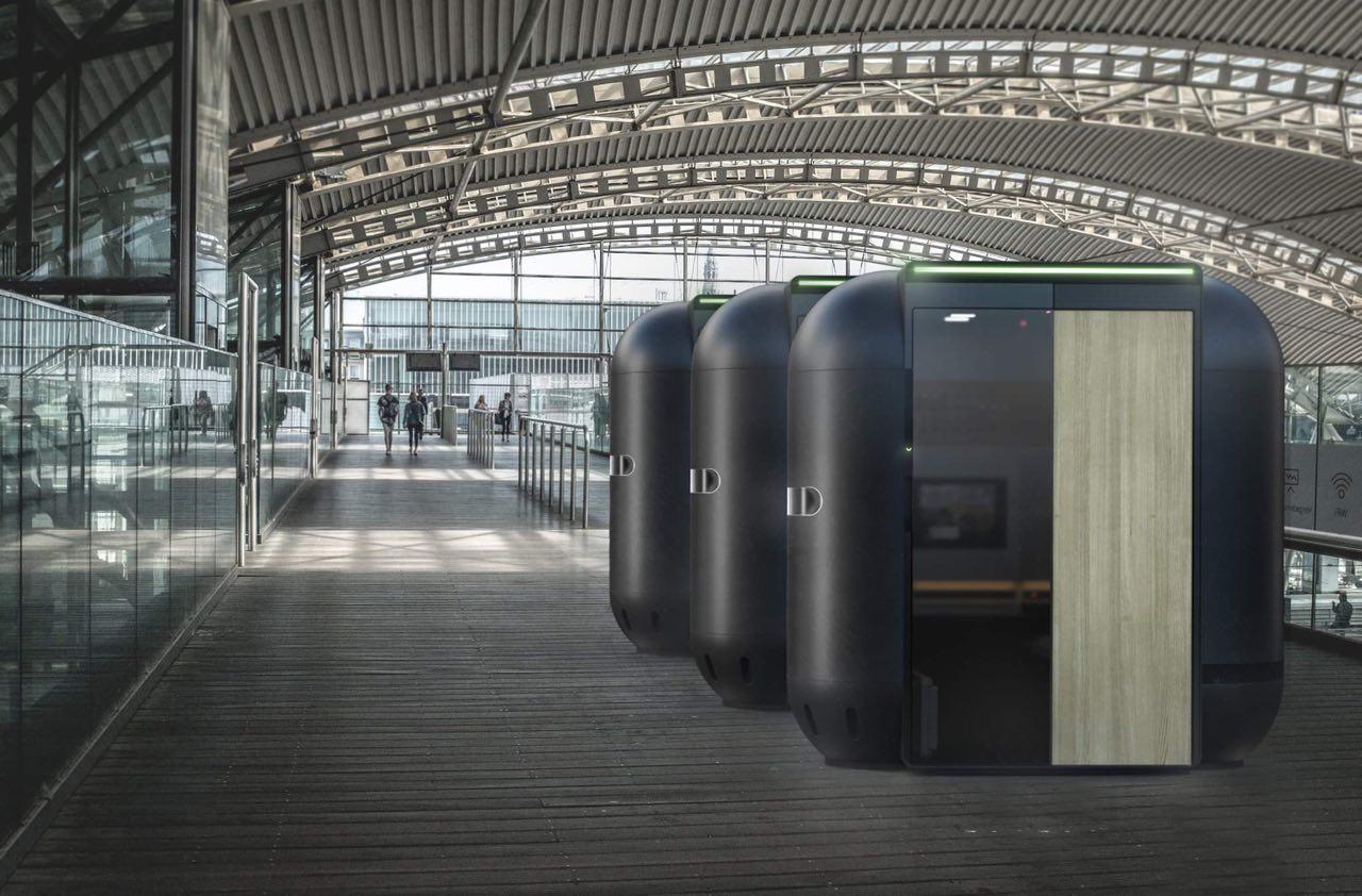 Российские инженеры разработали капсульный отель с QR-доступом