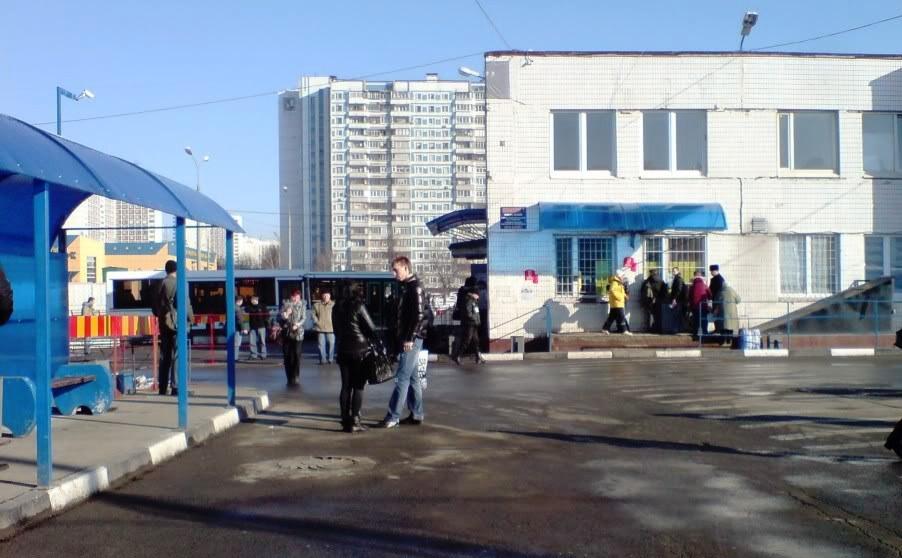 Автобусную станцию «Красногвардейская» реконструируют