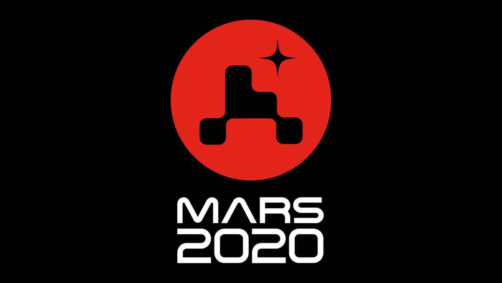 Новое минималистичное лого миссии NASA Mars 2020
