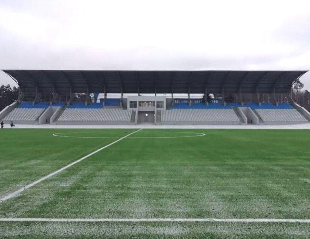 К открытию готовится обновленный стадион «Знамя Труда» в Орехово-Зуево