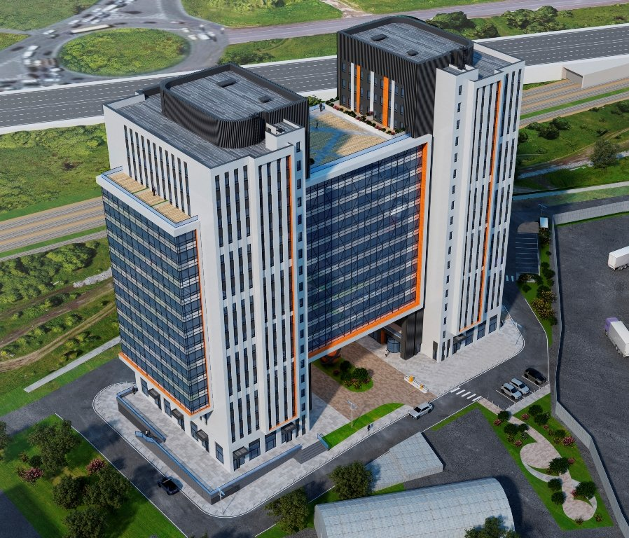В Химках построят гостиницу в форме буквы Н