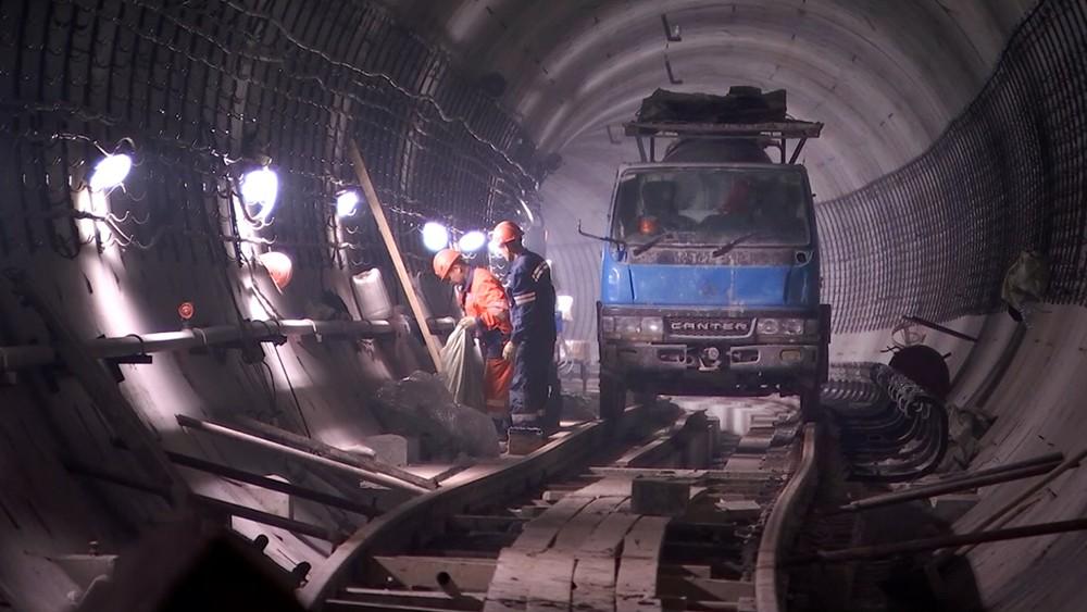Завершен очередной тоннель на северо-восточном участке БКЛ метро