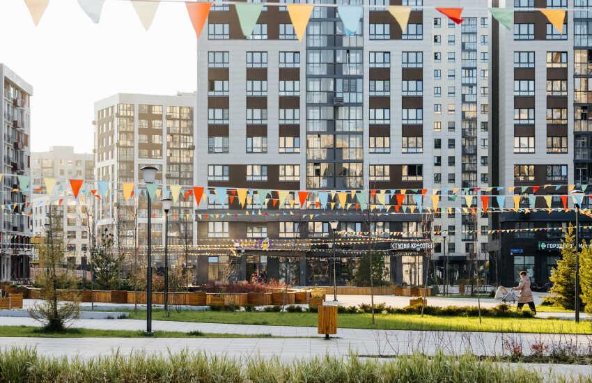 В ЖК «Испанские кварталы» открылся детский парк