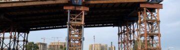 Как проходит возведение путепровода для обеспечения реконструкции путепровода через железнодорожные пути на Дмитровском шоссе