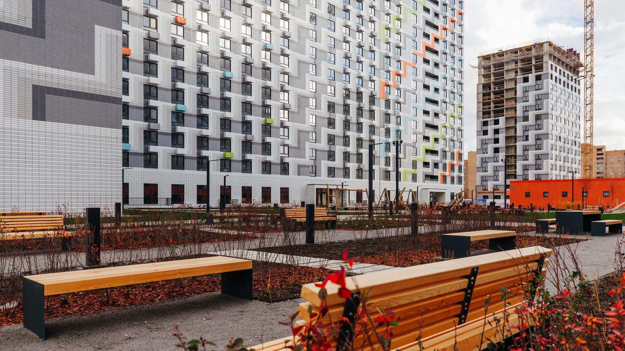 В ЖК «Римского-Корсакова 11» достроены два дома почти на 400 семей