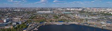Власти Москвы одобрили проект благоустройства набережной рядом с Южным речным вокзалом