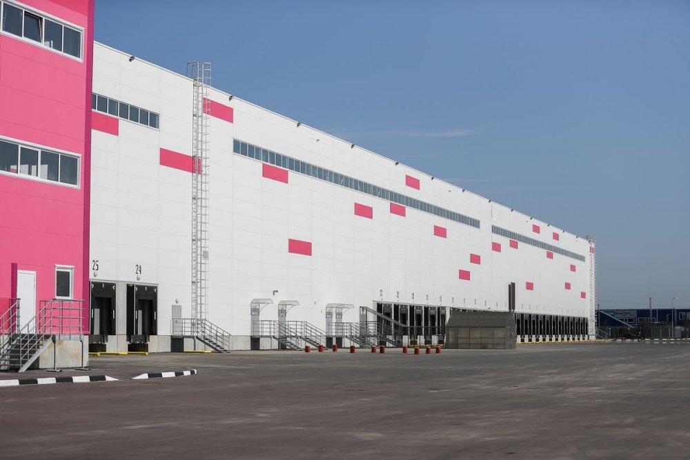Гигантский склад Wildberries строится в Подольске