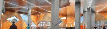 Как проходит строительство вестибюля станции метро «Славянский мир»