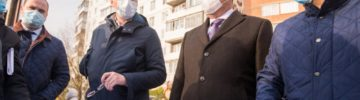 Министр благоустройства Михаил Хайкин проверил ход работ по благоустройству в Ногинске
