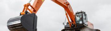 На заводе Hitachi запущено производство новой модели экскаватора ZX380LC-5G