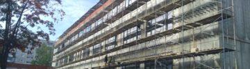 Строительство учебного корпуса на 300 мест в Орехово-Зуево выполнено на 60%