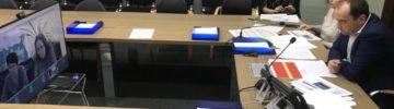 В Минстрое Подмосковья состоялось селекторное совещание по вопросу расселения аварийного жилья в одиннадцати городских округах