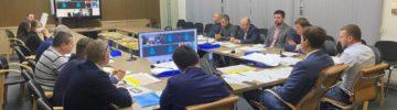 В подмосковном Минстрое прошло рабочее совещание по вопросам завершения строительства социальных объектов в 2020 году