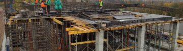 В Тропарево продолжается строительство школы на 275 мест