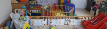 Замминистра благоустройства принял участие в озеленении территории Фрязинского специализированного дома ребенка