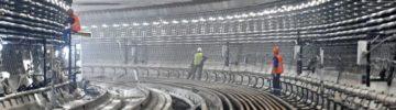 Завершена первая проходка двухпутного тоннеля на востоке БКЛ метро