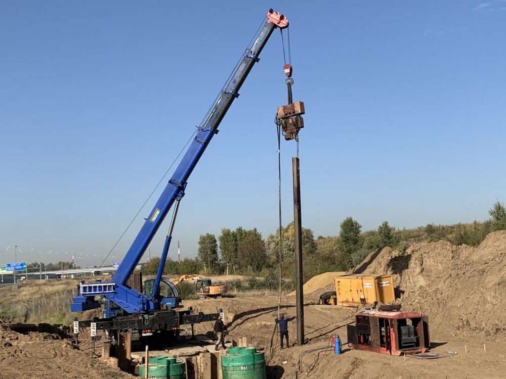 16 искусственных сооружений будет возведено на строящихся участках СВХ от Открытого до Дмитровского шоссе