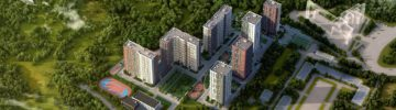 На юге столицы введены в эксплуатацию два дома ЖК «Лесопарковый» на 566 семей