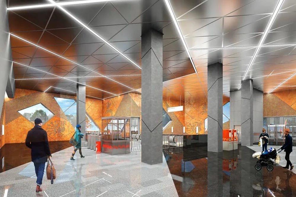 Как проходит строительство станции «Славянский мир» Троицкой линии метро