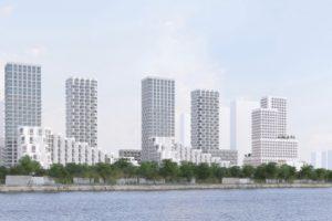 На территории комплекса «ЗИЛ-Юг» создадут «зеленый каркас»