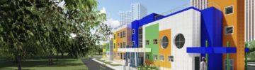 Необычный детский сад с ярким фасадом построят в районе Южное Бутово