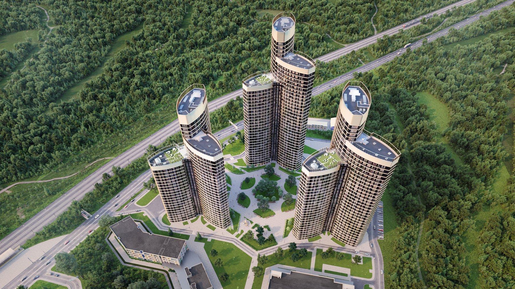 Анастасия Пятова: «Смотровая площадка и кинотеатр появятся на крыше ЖК «Крылья»»