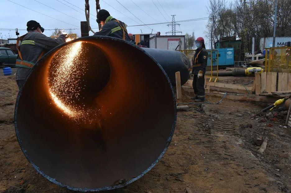 Показатели Управления врезок и присоединений газопроводов МОСГАЗа выросли 1.5 раза в сравнении с прошлым годом