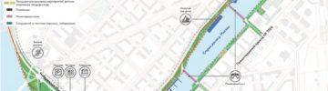 Реконструкцию набережной Марка Шагала завершат в 2021 году