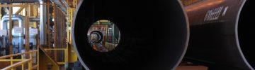 «Северсталь» впервые поставила трубы большого диаметра в США
