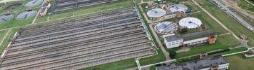 В Подольске досрочно ввели в эксплуатацию очистные сооружения