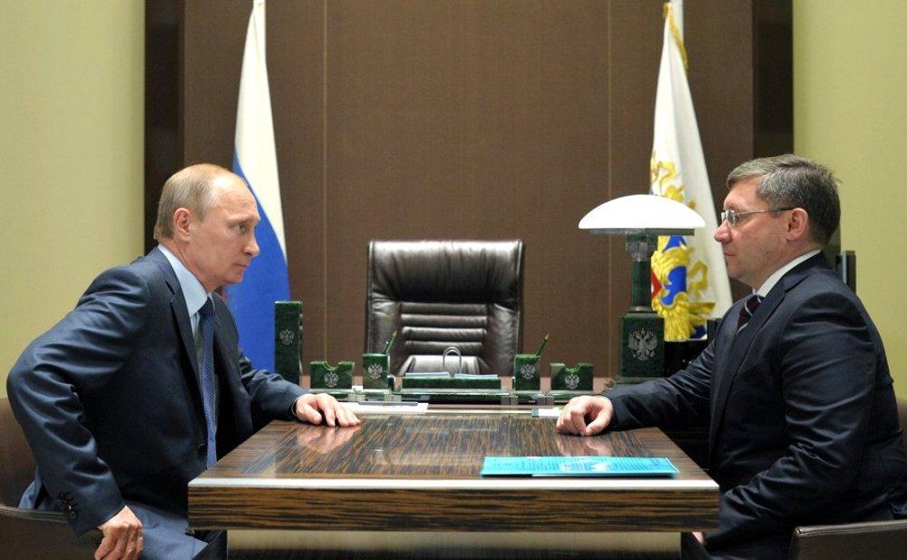 Владимир Якушев назначен полномочным представителем Президента в Уральском федеральном округе