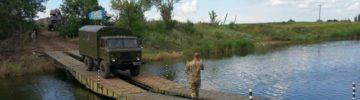 Военнослужащие ЗВО наведут пять мостов через реки в Тульской области