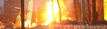 Что горит на стройке МЖК «Фестиваль Парк 2»