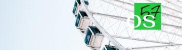 Как проходит монтаж колеса обозрения «Солнце Москвы» на ВДНХ