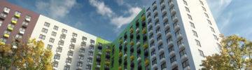 В двух корпусах жилого комплекса «Волжский парк» в Текстильщиках разрешено открыть продажи