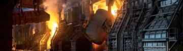 Череповецкий меткомбинат повысил объемы производства чугуна, конвертерной стали и горячего проката
