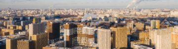 Завершено строительство пяти домов ЖК «Лефортово парк» на юго-востоке Москвы