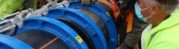 Реконструкция подводного газопровода-дюкера «Тушинский» ведется без отключения газа с комфортом для москвичей