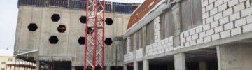 Строительство начальной школы в Истре ведется в графике