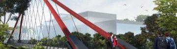 Вантовый пешеходный мост через Яузу соединит два района в СВАО