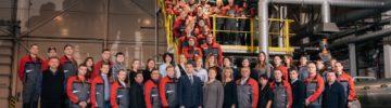 Завод «Техноплекс» компании ТЕХНОНИКОЛЬ в Рязани выпустил рекордное количество XPS