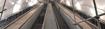 На станции БКЛ метро «Сокольники» начался монтаж эскалаторов