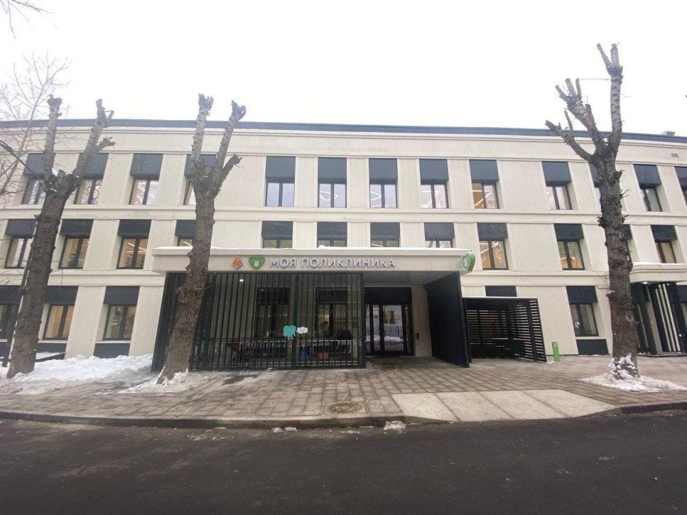 Как проходит строительство детской поликлиники в районе Савёловский