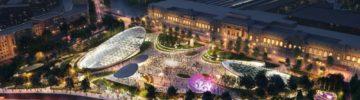 Когда достроят ландшафтный парк на Павелецкой площади
