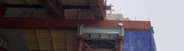 Началось бетонирование плиты дорожного полотна трех эстакад на пересечении с проспектом Мира